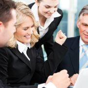 20904540 - business - colleagues have a successful meeting in an office